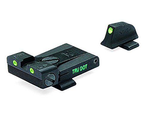 Meprolight Sig Sauer Tru-Dot Night Sight. Adjustable set for pistols with #8 frt. & rear sights