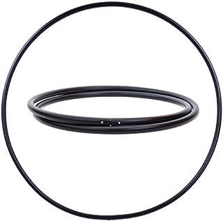 Hula Hoop en Blanco, PE-25mm, Negro