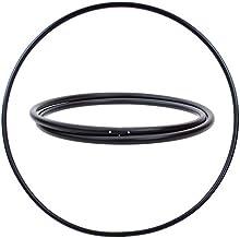 Hoopomania® Hula Hoop Rohling, PE-25 mm, ZWART, Ø 100/90 cm