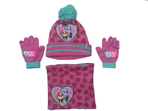 Mütze Schal Handschuhe Set Skye und Everest (52)
