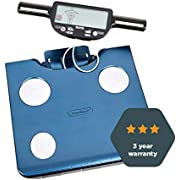 Tanita BC-602 Segmental Body Composition Monitor, Body fat and muscle mass per segment, Leader in BIA, 150Kg max, 3 yr warranty BC602MB21 Blue