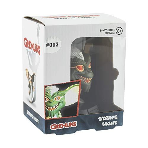 Paladone Gremlins 3D Leuchte Icon Light Gremlin schwarz, Bedruckt, aus Kunststoff, mit LEDs, im Sichtkarton.