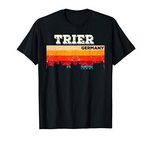 Mein Trier Skyline Deutschland Heimat Stadt Souvenir T-Shirt