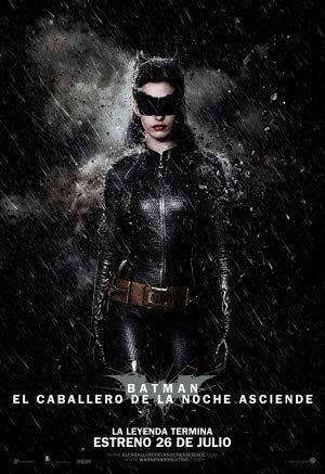 The Dark Knight Rises – Catwoman – Chilean Movie Wall Poster Print - A4 Size Plakat Größe Batman