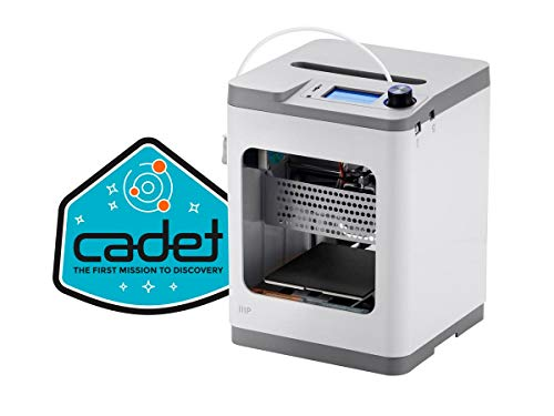 Monoprice - 140108 MP Cadet 3D Printer, Full Auto Leveling, Print Via WiFi, Small Footprint Perfect for a Desktop, Office, Dorm Room, or The Classroom