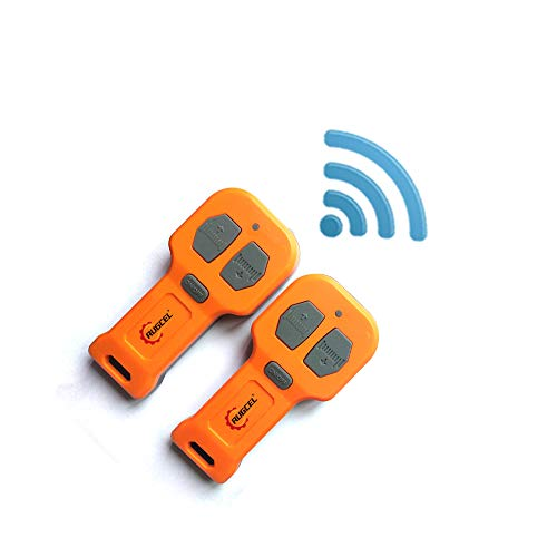 Qook 2pcs 12V Recovery Wireless Winch Remote Control Handset Switch