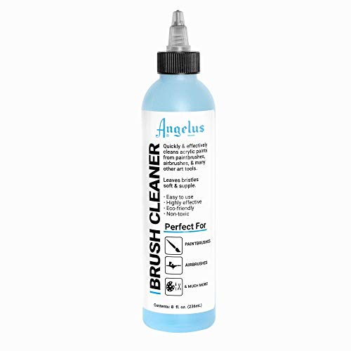 Angelus Brush Cleaner for Airbrushes Paint Brushes, Painting Tools, Art Accessories 8oz