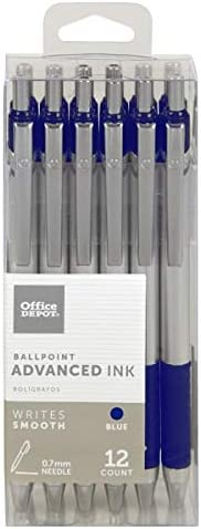 Office New arrival Depot Advanced Ink Quantity limited Retractable Needle Ballpoint Pens Poi