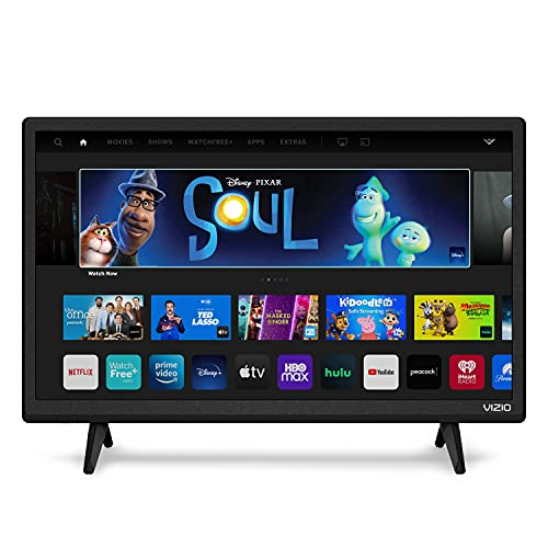 VIZIO 24 Inch Smart TV, D-Series Television LED HDTV with Apple AirPlay and Chromecast Built in &...