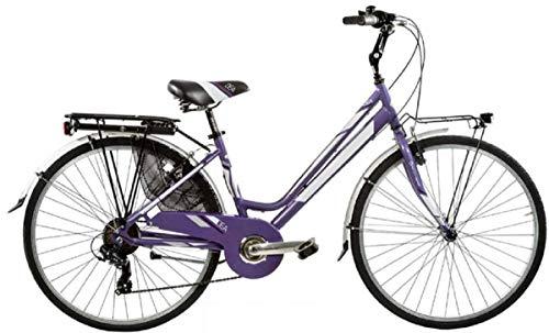 Bici Misura 26 Donna City Bike Alluminio 6V DEA Art. DEA26D6V