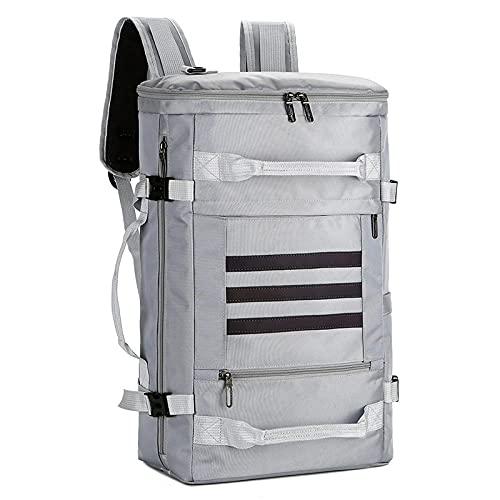 Bolso de Mano de Lona de Viaje de Lona de Gran Capacidad Holdalls Bolso de Viaje de Noche de Fin de Semana Handbags-6_The