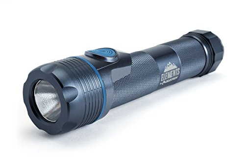 Celestron – Elements ThermoTorch 10 – Lithium Ion Battery LED Flashlight – 3-in-1 Tactical Flashlight – Ergonomic Hand Warmer and USB Power Bank – Rechargeable Flashlight