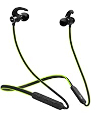 Boat Rockerz 255 Sports Wireless Headset with Super Extra Bass, IPX5 Water & Sweat Resistance, Qualcomm Chipset and Up to 6H Playback (Neon)