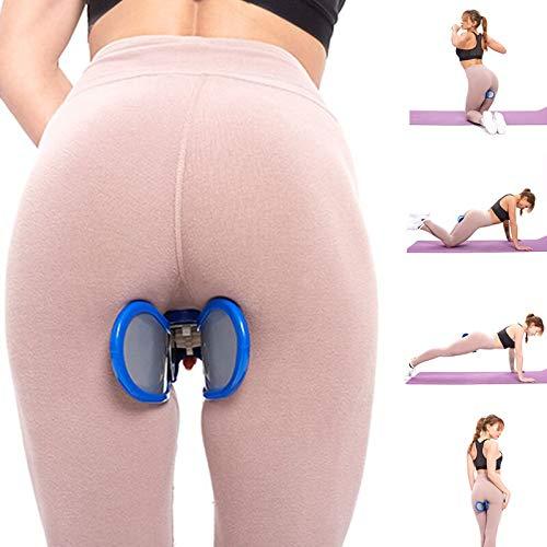 PUNGDUNK Hip Device Trainer Ejercitador Control de la vejiga for el Piso pélvico Muscular Pelvis Corrección Hermosas Nalgas Ejercitador Culturismo (Color : Bule)