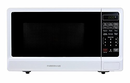 Farberware Classic FMWO11ABTWHA 1.1 Cubic Foot 1000-Watt Microwave Oven, White