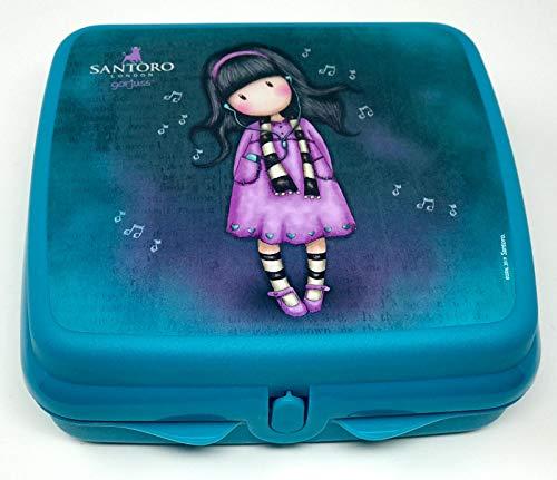 Tupperware to Go Twin türkis Aqua Brotdose Box Behälter Kindi Twin Kind Kindergarten Schule