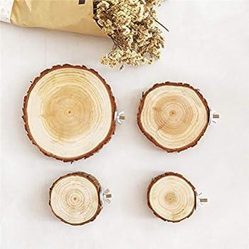 iplusmile - Planche en bois pour perroquet 8-10 cm - Accessoire pour cage à oiseaux