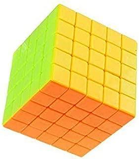 smartcraft Completely Stickerless 5X5X5 Wind Speed Rubik Cube Puzzle, Train Your Brain (Multicolour)