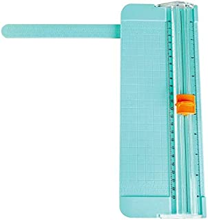 A4 A5 Precision Paper cutter, Portable Scrapbooking Trimmer, Card, Art, Photo Trimmer Cutting with ruler, Green