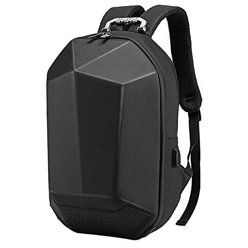 Sansund Bluetooth Musik Lautsprecher Rucksack Schule Tasche USB Aufladung Multifunktional für Reisen Outdoor, Schwarz