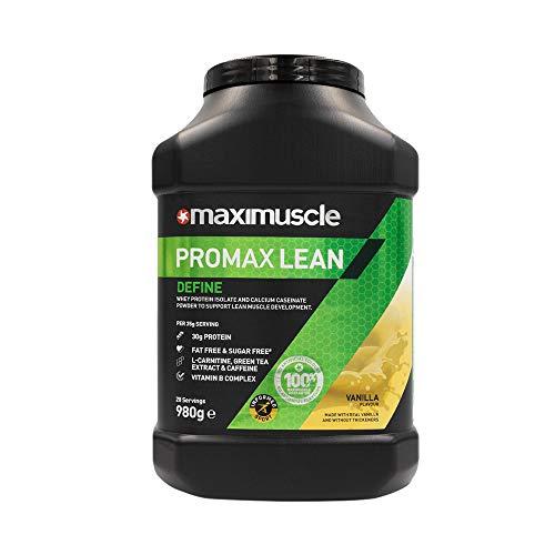 MAXIMUSCLE Promax Lean Protein Powder Vanilla Flavour,980 g