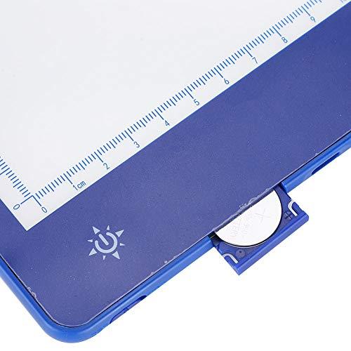 Jiawu Caja de luz, Almohadilla de luz, Tableta de Dibujo en Color Ajustable para Pintar, Dibujar, Dibujar en Relieve