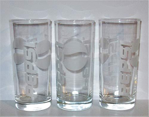 Vaso / Pepsi-Cola / Pepsi / Cristal / 3 x 0,3 litros...