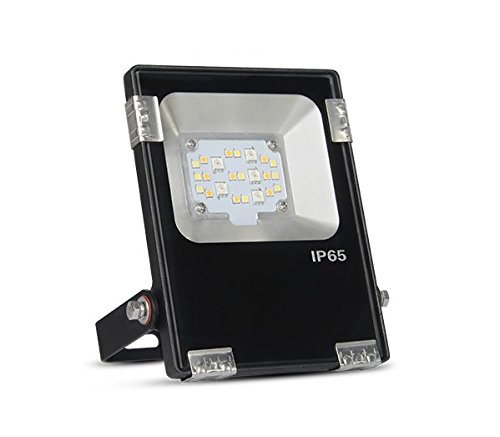 KingLed – Mi-Light Foco LED de Jardín Wi-Fi RGB+CCT 10W impermeable IP66 FUTT05 cod. 2387
