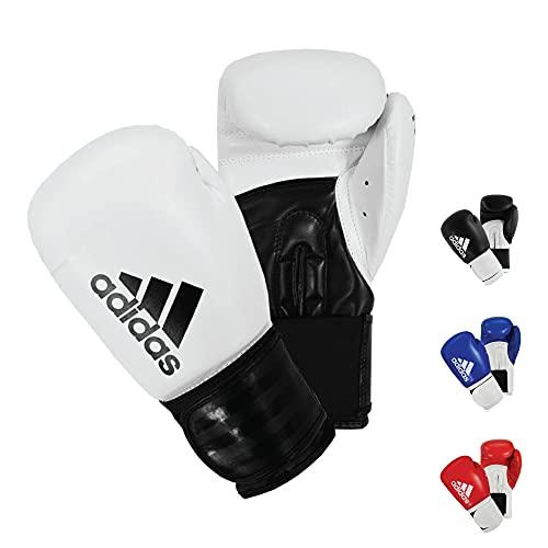adidas Hybrid 100 Boxhandschuhe, weiß, 454 g