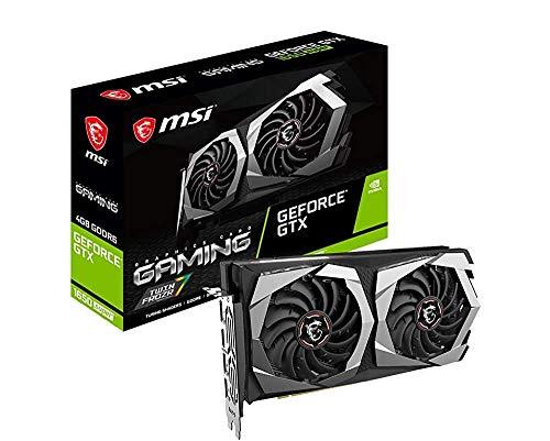 MSI Gaming GeForce GTX 1650 Super 128-Bit HDMI DP 4GB GDRR6 HDCP Support DirectX 12 Dual Fan VR Ready OC Graphics Card (GTX 1650 Super Gaming X) (Renewed)
