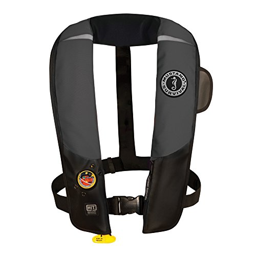 1 - Mustang HIT Inflatable Automatic PFD - Gray/Black