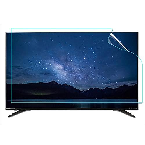WUK TV Pantalla de Cristal líquido Película Protectora Antirreflejos Luz Azul antideslumbrante LCD de 20-70 Pulgadas Pantallas Curvas y Rectas Monitor Pantalla de protección Ocular