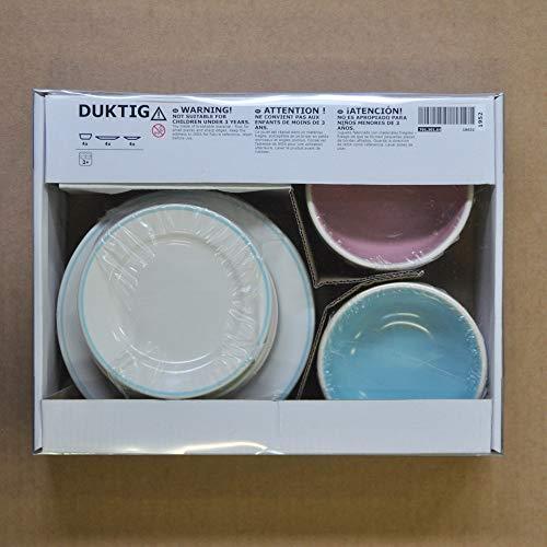 IKEA DUKTIG Teller-/Schalenset 12tlg.