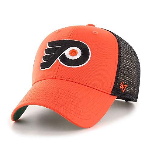 '47 Gorra Trucker Branson MVP Philadelphia Flyers Brand - Naranja - Ajustable