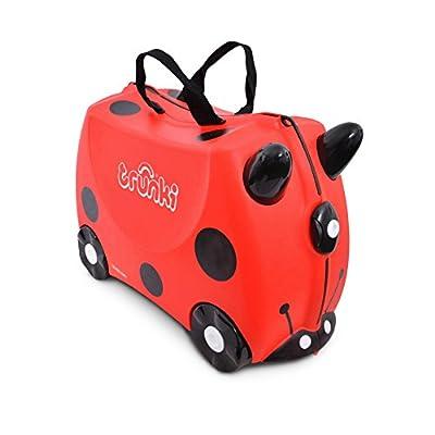 Trunki Children?s Ride-On Suitcase: Harley Ladybug (Red)