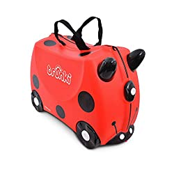BOREDOM BUSTING – Sit-On, Ride-On, Carry-On; keep kid's entertained through the airport, at destination and away from home HOME PLAY - Fun ride-on toy, storage solution, kids seat and perfect for pretend play adventures HAPPY TRAVELS - Ideal child's ...