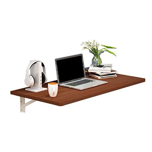 WEIDONG Simple furniture Soporte de pared plegable portátil de escritorio flotante escritorio de la computadora for espacios pequeños de madera de cocina Mesa de comedor 100 libras Capacidad de peso