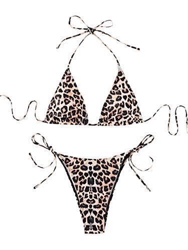 Bikini Leopardo  marca SOLY HUX