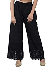 SEE-4 JEANS Women's Regular Fit Palazzo