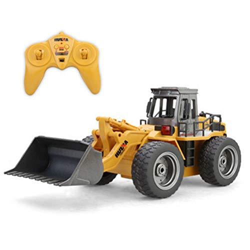Fernbedienung RC BAU Bulldozer Spielzeug Traktor LKW Frontlader Bagger Fahrzeug 5 Kanal Vollfunktionale Funkspielzeug Digger für Kinder Jungen Alter 3