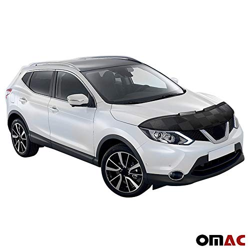 Excludes Rogue Sport models. Fits 2017-2020 Nissan Rogue With INTELLIGENT CRUISE CONTROL Lebra 2 piece Front End Cover Black Car Mask Bra