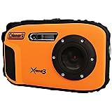 Coleman C9WP-O 20 MP Waterproof Digital Camera with Full 1080p HD Video (Orange) [並行輸入品]