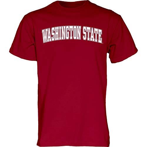The Blue Brand Blue84 NCAA Washington State Cougars Herren-T-Shirt, kurzärmelig, Größe XL