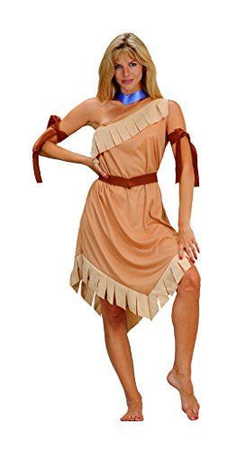 RG Costumes Women's Pocahontas, Brown, One Size