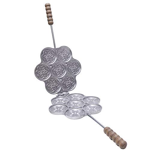 FONDERIA BONGIOVANNI Tigelliera in Alluminio 7 posti per Tigella da 8,5 cm