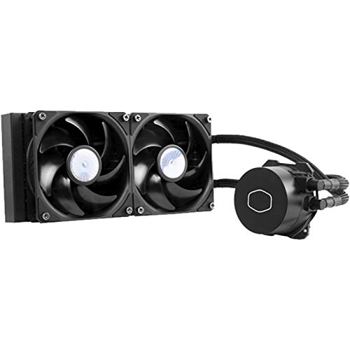 Liquid Cooler Para Processador Cooler Master MasterLiquid ML240L V2 sem iluminação nas ventoinhas, 240mm