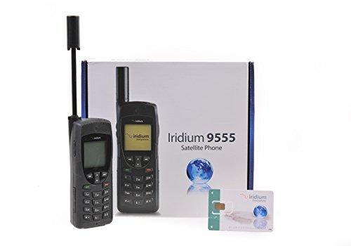 Iridium 9555 Satelliten-Telefon & SIM-Karte mit 600 Minuten für 365 Tage