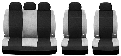 Sakura BY0802 - Juego fundas asientos coche, color