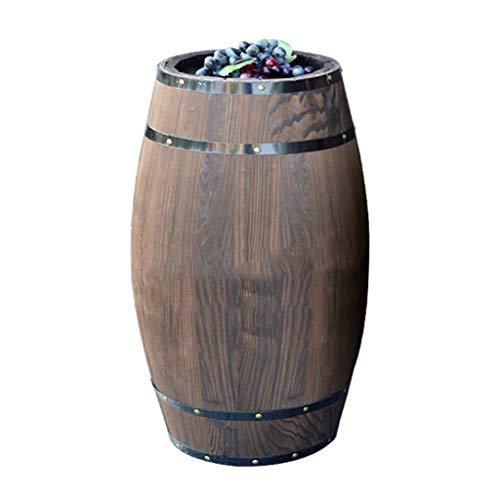 JIANGLI Roble del Barril de Vino de Madera de visualización Hecho a Mano gabinete del Vino Bar de vinos Bodega de Cerveza despacho de casa exhibiciones y Decoración (Size : 40cm*30cm)