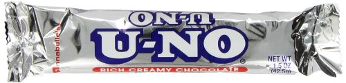 U-No Bars, 1.5-Ounce Bars (Pack of 24)
